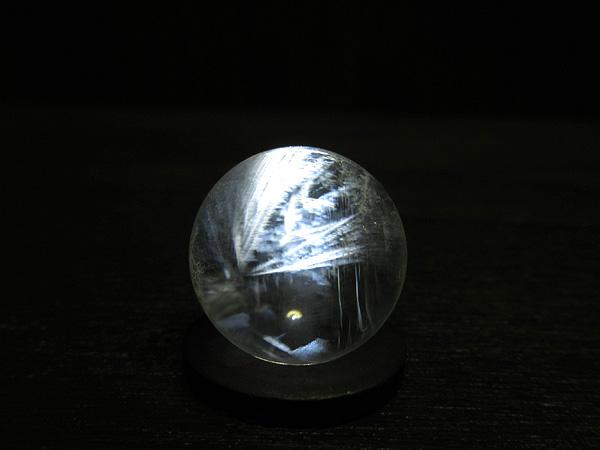 ブルーハイダウェイクォーツ エンジェルラダー 天然水晶 丸玉 販売 天然石専門店