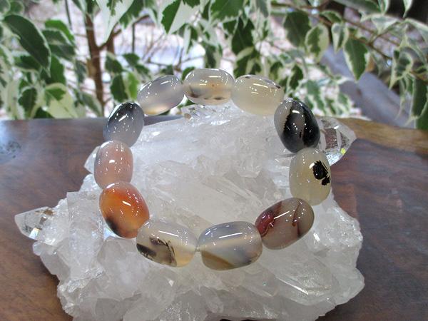 アゲート メノウ ブレスレット 天然石アクセサリーの通販 販売専門店 鬮石