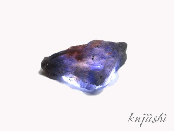 ブラッドショットアイオライト 原石 【鬮石(くじいし) kujiishi】