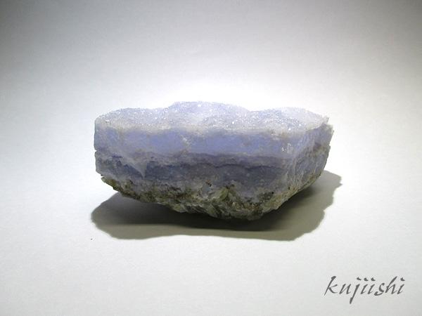 ブルーレースアゲート(ブルーカルセドニー)ドゥルージー原石クラスター