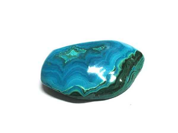 クリソコラ原石ポリッシュ(磨き)コンゴ産