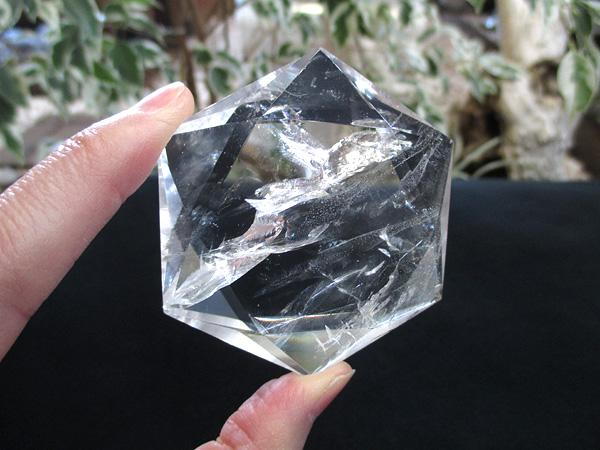 ヘキサグラム(六芒星)/トカンティンス州産天然水晶/通販/販売 | 天然石専門店【鬮石】