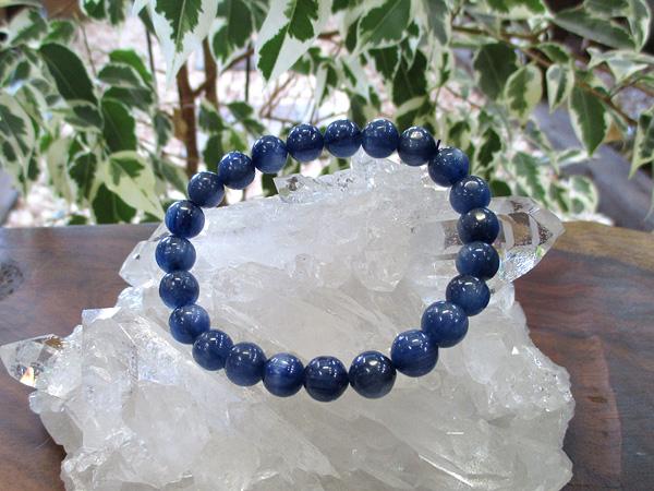 カイヤナイトブレスレット 天然石アクセサリーの通販 販売専門店 鬮石