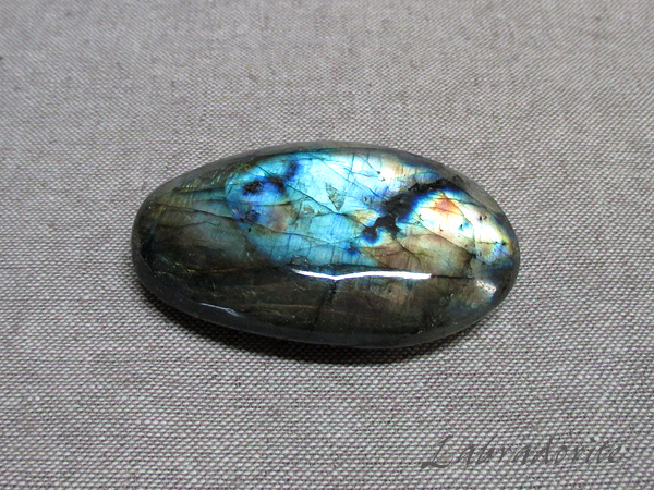 【高品質】 ラブラドライト原石 フリーシェイプ 天然石 パワーストーン専門店【鬮石】Labrado-R-52
