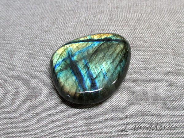 【高品質】 ラブラドライト原石 フリーシェイプ 天然石 パワーストーン専門店【鬮石】Labrado-R-53