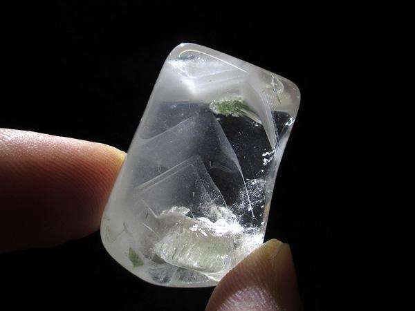 ファントムクォーツ 水晶 ポリッシュ 販売 天然石専門店【鬮石】