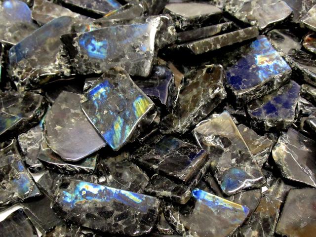 特価 スペクトロライト原石 ポリッシュ 5個セット 天然石 鉱物 通販 販売