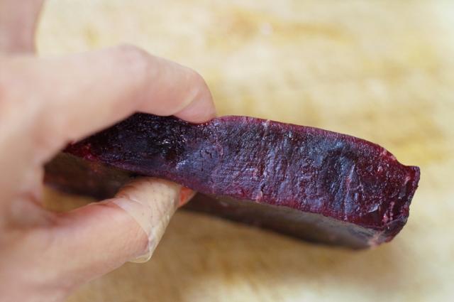 鯨赤肉解凍