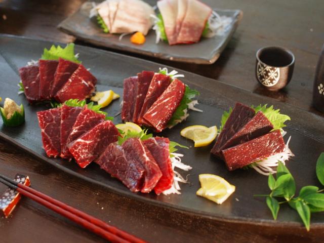 くじら赤肉食べ比べセット【化粧箱付き】(3008/3886/3911/3902/1011)
