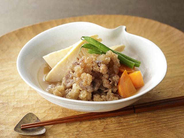 【1月SALE】【20%OFF】タケノコ、ツワ等の春野菜のお料理に使える薄切り肉!須払い鯨200g×5(すばらい鯨)(脂肪分が多い薄切りスジ肉)(3881-5)