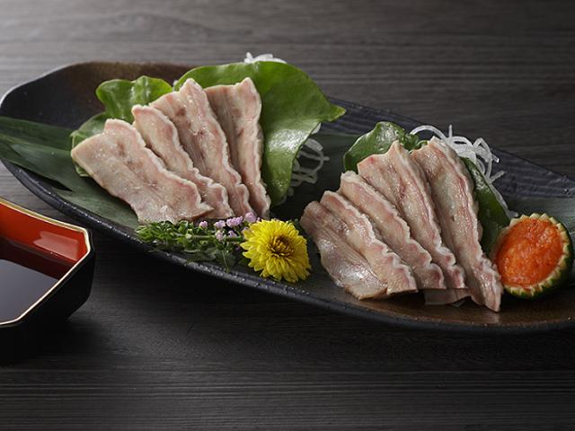 鯨の百畳(ひゃくじょう)胃袋スライス70g(約13枚前後)/イワシ鯨【無添加】(3101)