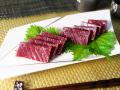 【熟成】イワシ鯨のお刺身(赤肉1級)約170g【無添加】(3902)