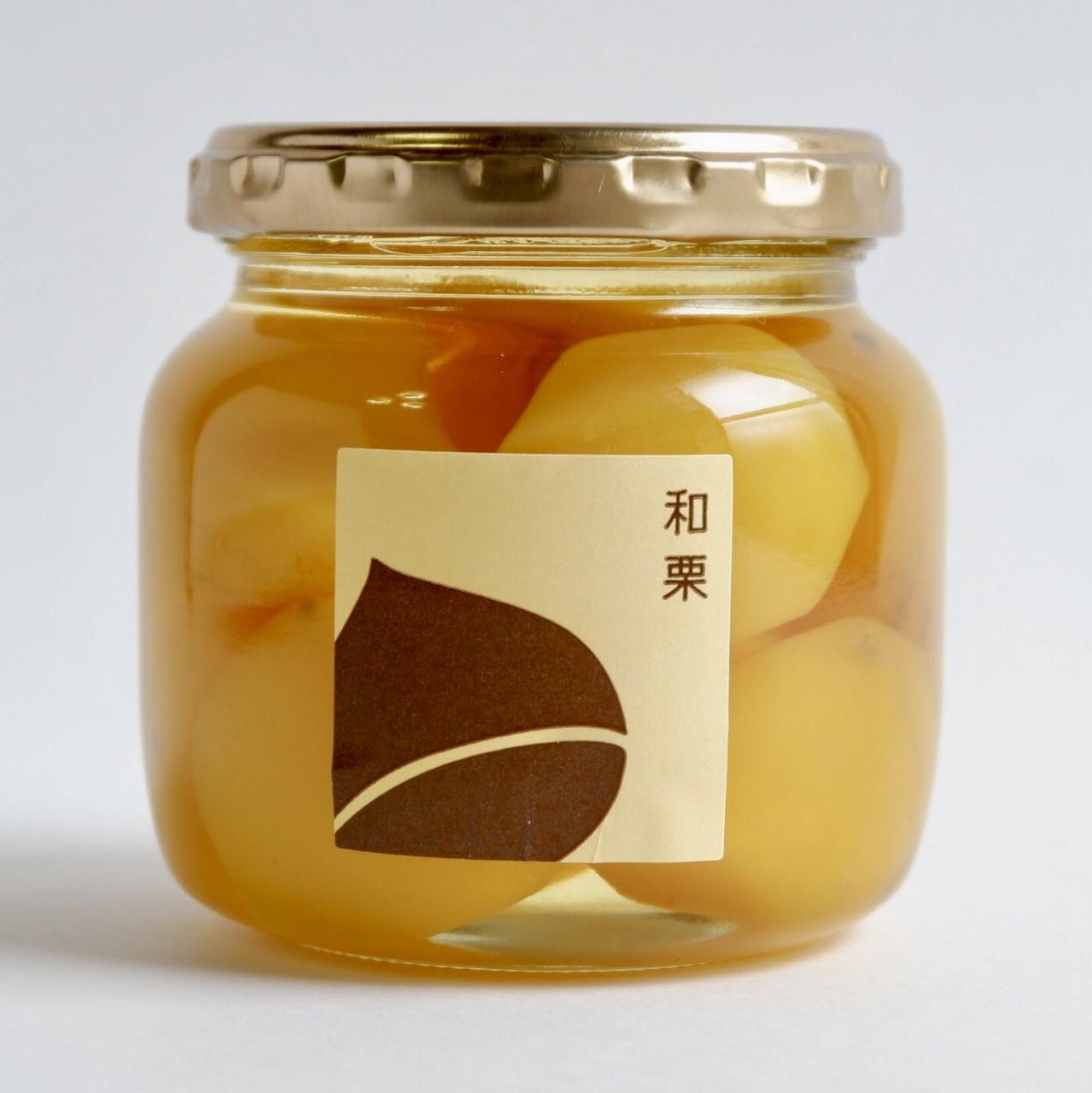 「和栗ミニ(250g)」 国産和栗の甘露煮