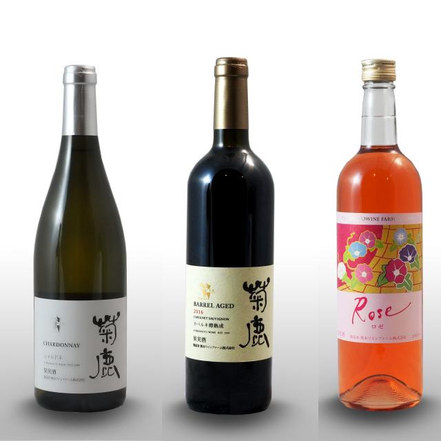 春のおすすめワイン3種★赤白ロゼを飲み比べ