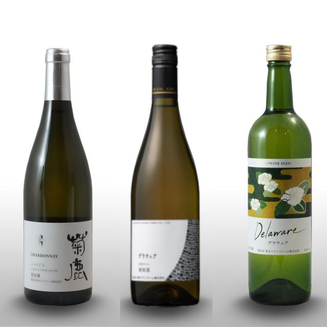 受賞白ワイン3種★飲み比べセット~※ギフト箱は付いていません。