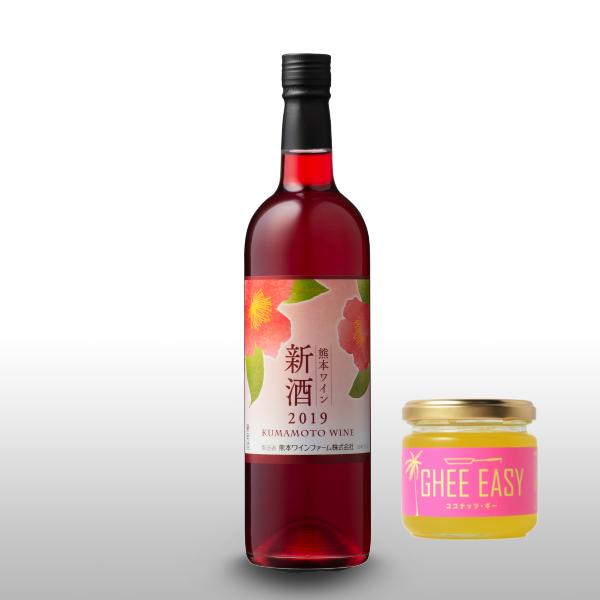 ホワイトデー★新酒キャンベル(赤・甘口)&ココナッツギー【ラッピング無料】
