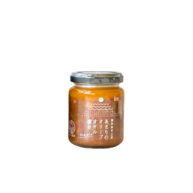 あさりのオリーブオイル漬け☆トマト 120g