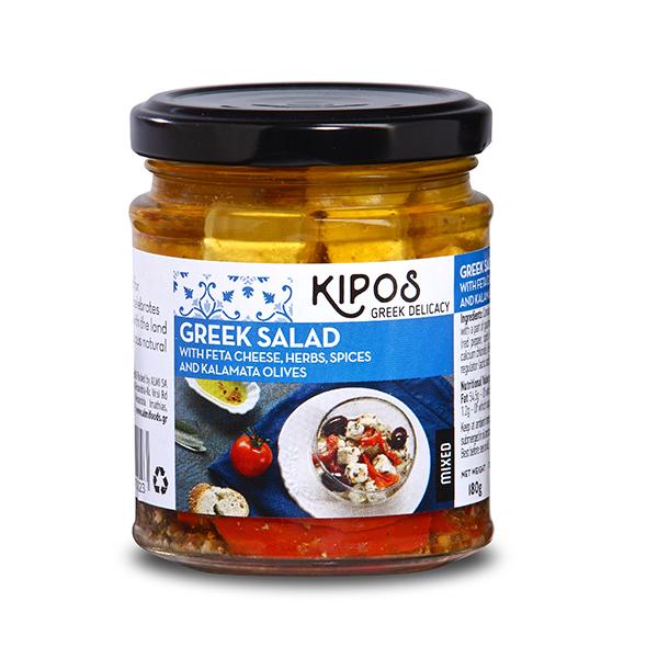 KIPOSフェタチーズ(オリーブ&レッドペッパー入)180g
