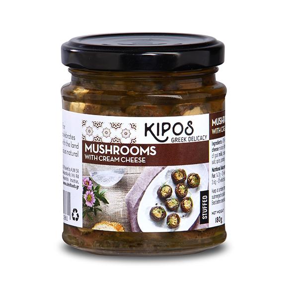 KIPOSマッシュルーム(クリームチーズ入り)180g