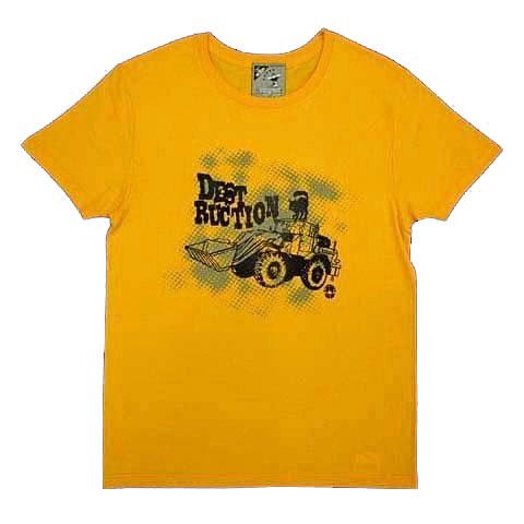 ブルドーザーTシャツ〜あるクロネコの野望〜