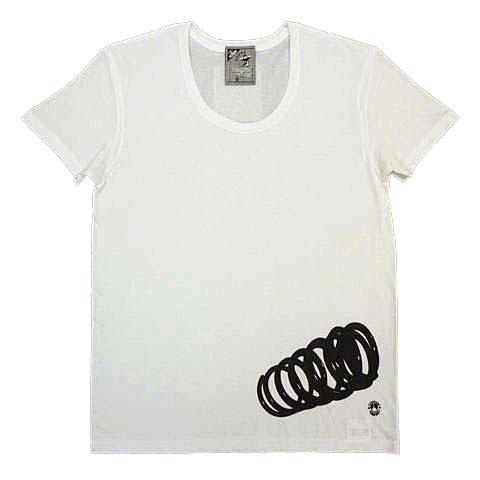スプリングUネックTシャツ