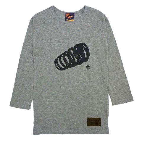 スプリングサーマル7分袖ラグランTシャツ