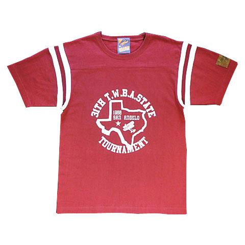 TEXASフットボールTシャツ