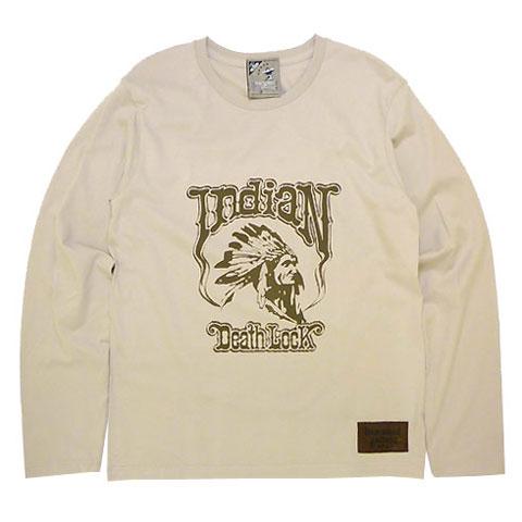 インディアンデスロックロングスリーブTシャツ