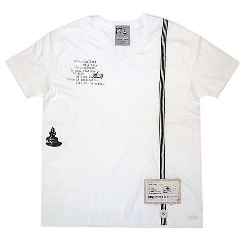 未完成VネックTシャツ