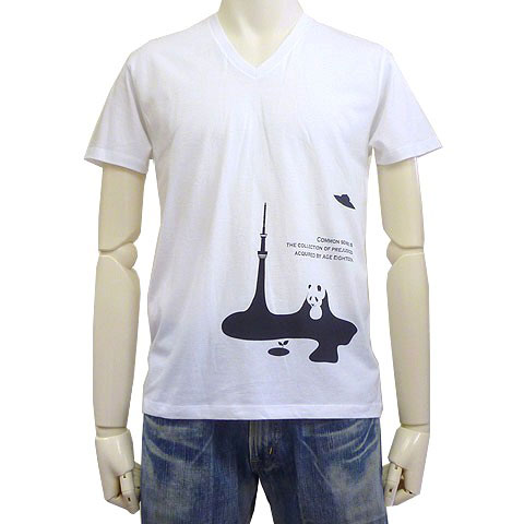 未知との遭遇VネックTシャツ