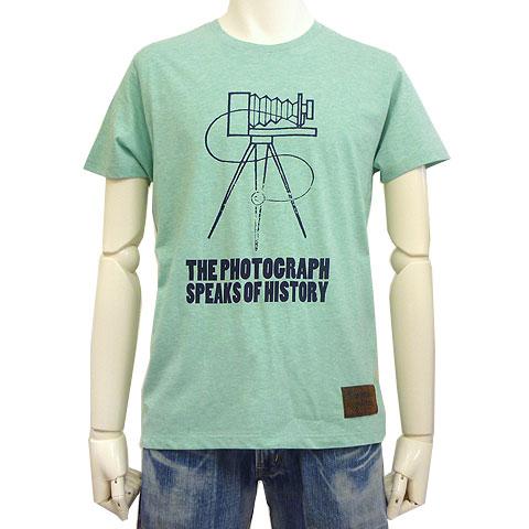 スプリングカメラカラー杢Tシャツ
