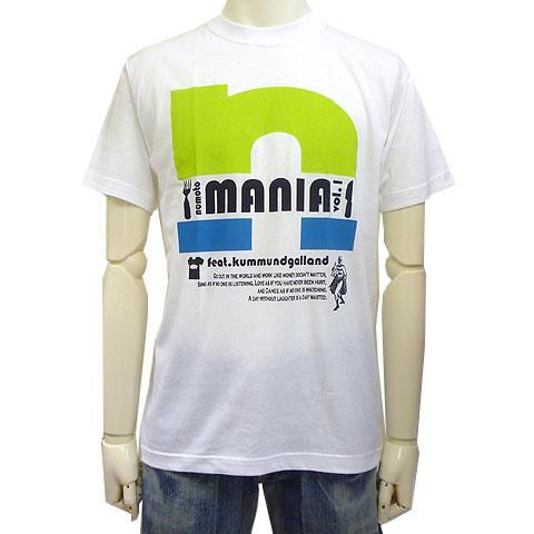 NOMOTOMANIAコラボTシャツ ホワイトフロント