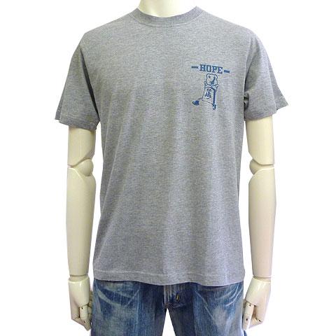 第3次と金Tシャツプロジェクト 東日本大震災被災地復興支援Tシャツ グレー フロント