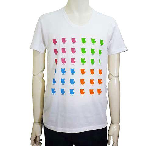 テトラチェアUネックTシャツ カラフル