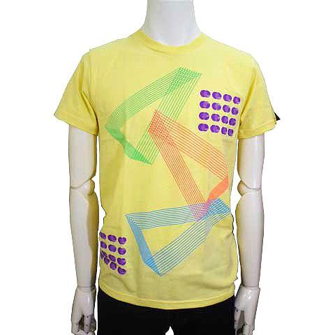 オプティカルパターンTシャツ