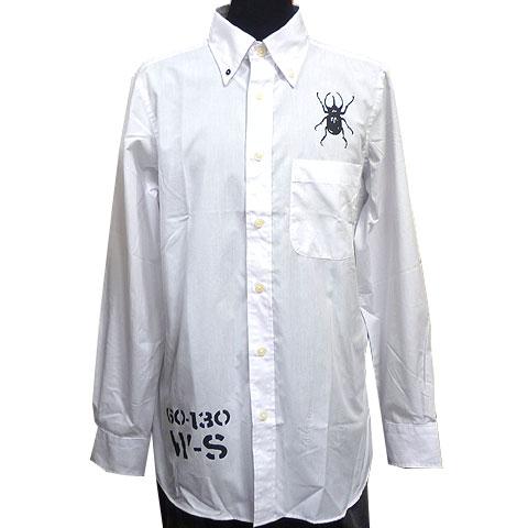 コーカサスオオカブトブロードボタンダウンシャツ フロント