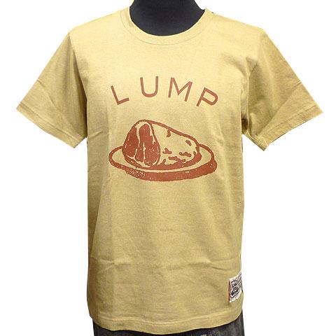 LUMP Tシャツ サンドカーキ フロント