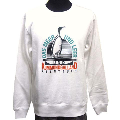 ペンギントレーナー ホワイト フロント