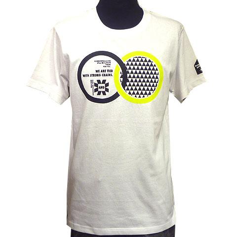 クロスリングスリットTシャツ フロント