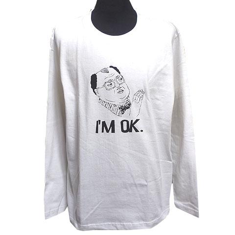 I'M OK.ロングスリーブTシャツ