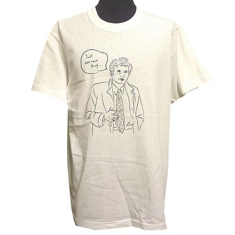 刑事Tシャツ ホワイト フロント