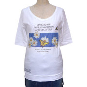 レディースHOMIE OF THE EARTH 5分袖Tシャツ