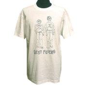 BEST FRIEND Tシャツ ホワイト フロント