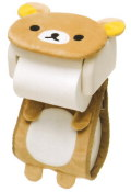 【トイレが可愛くに変身♪】サンエックス リラックマ「ダイカットシリーズ」 ロールペーパーカバー