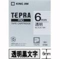 【30%オフ!】テプラPROテープ 透明ラベル 6mm幅 ST6