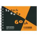 【マルマン 図案シリーズ60周年記念】60th 図案スケッチブック ミニサイズ ZSMINI