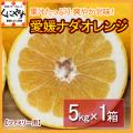 「ファミリーナダオレンジ5」【送料無料】【ギフト】愛媛西宇和産ナダオレンジ ファミリー用5kg 冷やして食べるとひんやりジューシー