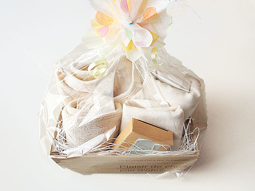 出産祝い オーガニックコットンセット10000(ホワイト)