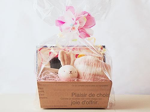 出産祝い すくすくセット(ピンク)