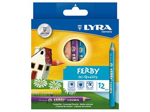 色鉛筆 ファルビー 12色セット/LYRA